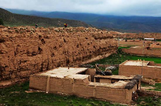 甘肃八角城 遗落在丝绸之路上的古城池