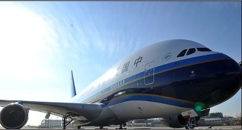 南航空客a380飞机
