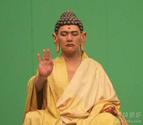 王绘春/王绘春在《新西游记》中演如来佛祖