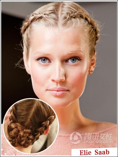 这种欧式宫廷皇族几百年相传的复古发型