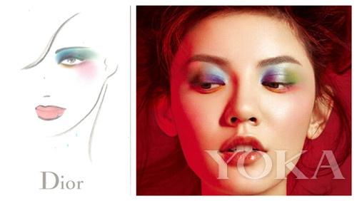 色彩创意家tyen 打造穿越美妆