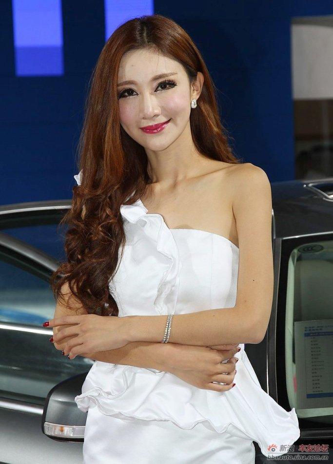 2012兰州车展美女车模精选集 车模