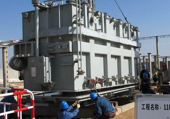 新区第一座110KV源泰变电站已于2011年底建成投入运行