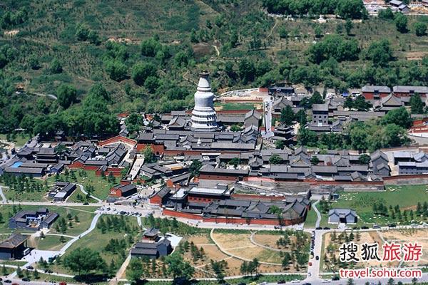 历史最古 规模最大的显通寺