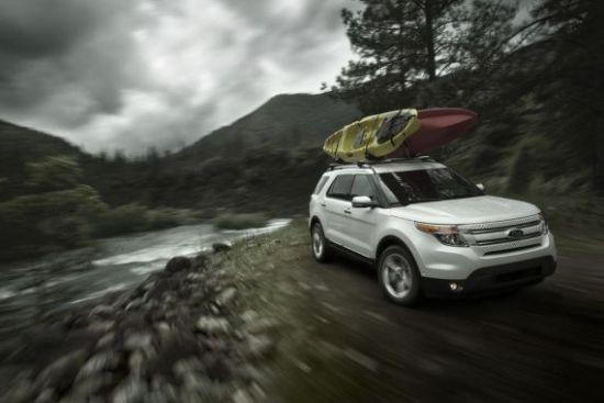 将采用全铝车身 全新福特探险者