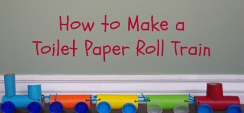儿童玩具手工制作教程-快乐小火车