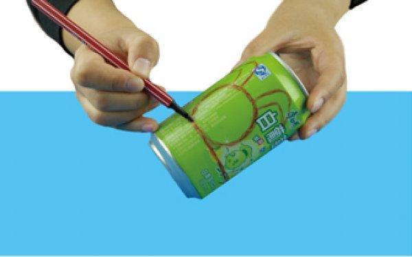 废物利用手工小制作:易拉罐不倒翁
