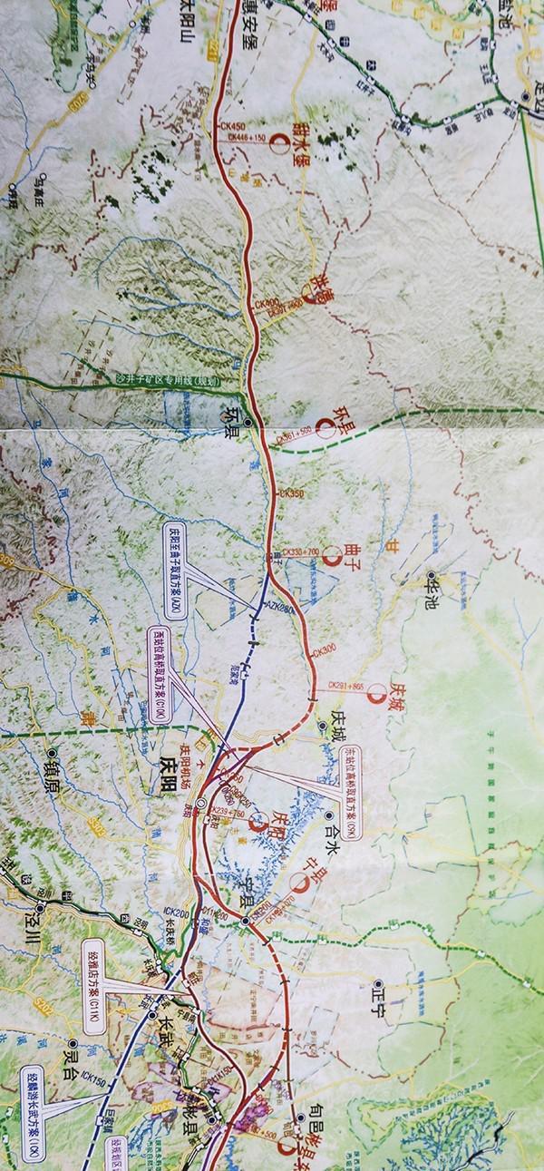 银川到西安高铁将途经宁夏