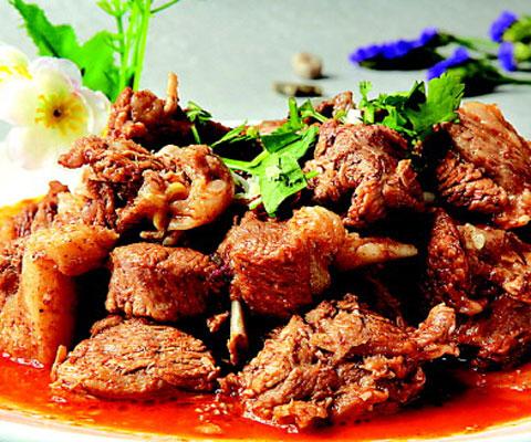 白银特产――靖远羊羔肉