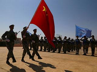 帅!我赴马里维和部队官兵被授予和平荣誉勋章