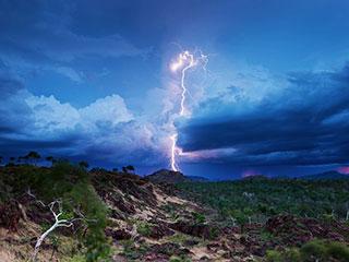 闪电追逐者 澳大利亚震撼的自然景