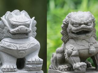 """辣眼睛!杭州这座老桥上的石狮子竟全都画了""""眼线"""""""