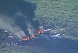 美国海军陆战队飞机坠毁 16人死亡无人幸存