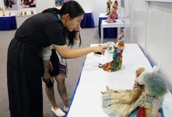 国际艺术玩偶大师亮相无锡