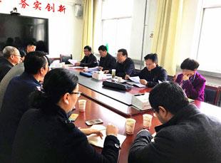 杨衍佐副主席在皋兰县忠和镇召开脱贫攻坚现场办公会