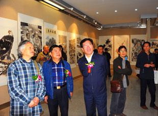 丝路情怀・兰州合肥开封书画精品联展在甘肃画院举行