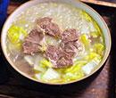 白菜牛肉粉丝汤