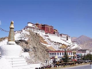 """西藏实行特殊优惠力推""""冬游西藏""""布达拉宫等景区免费开放"""