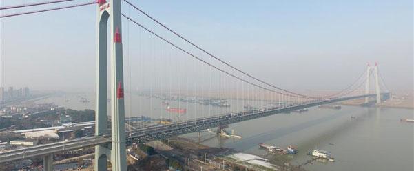 杭瑞高速洞庭湖大桥建成通车