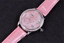 品鉴格拉苏蒂原创偏心月相女士腕表