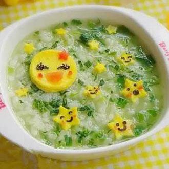 月亮星星蔬菜粥