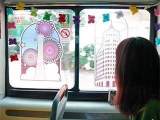 广州首批新涂装电动公交车运营