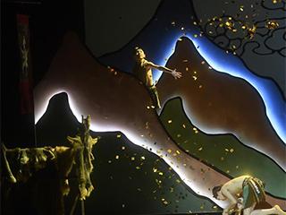 """""""从敦煌壁画里跳出来""""的童话芭蕾《九色鹿》在京上演"""