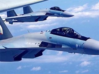 空军发布宣传片展现歼-20、苏-35、轰-6K海上新航迹