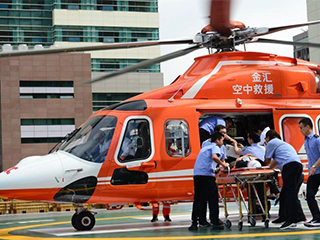 内蒙古自治区人民医院航空医疗救援基地举行启动仪式