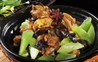 香菇茅台鸡