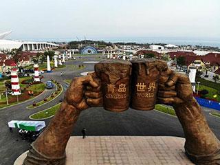 山东青岛:备战啤酒节
