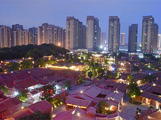 福建晋江:传统街区保留故土气息