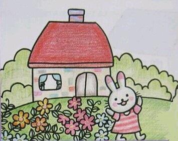 小兔子种花