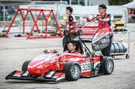 中国车队亮相赛车比赛