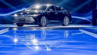 一汽丰田AVALON亚洲龙首发 明年3月正式上市