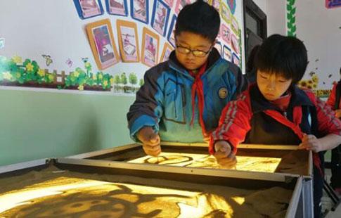 """兰州市榆中乡村学校打造农村娃的""""快乐大本营"""""""