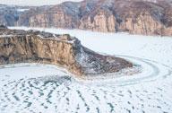 老牛湾雪景