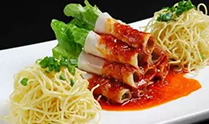 面香(xiang)白(bai)肉卷