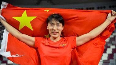 多哈亚锦赛:吕会会夺得女子标枪冠军