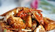 老豆腐烧蟹