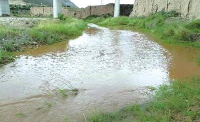 榆中县:干涸多年的宛川河再现波澜