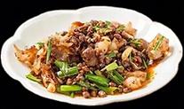 水豆豉炒回锅肉
