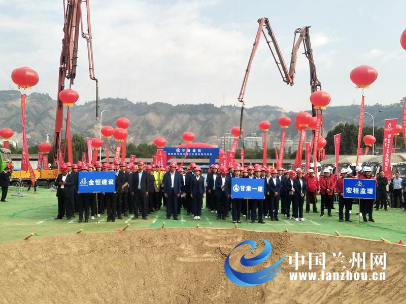 yabo体育平台总投资为18亿元 甘肃华夏文化博览园项目破土动工