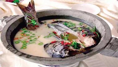 清汤石锅鱼
