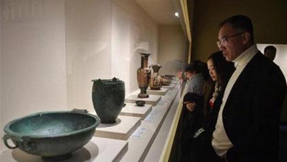 意大利134件文物亮相四川博物馆