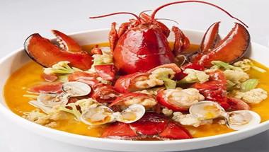 波龙花蛤煮有机花菜