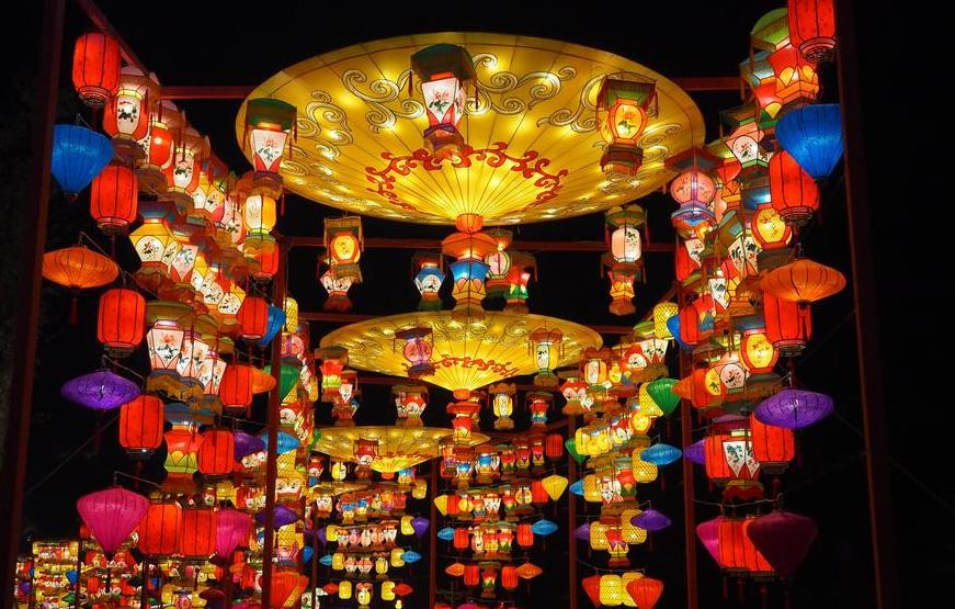 第26届自贡国际恐龙灯会开幕