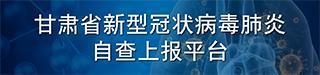 甘�C省新型冠��(zhuang)chuang)《du)肺炎(yan)自查上(shang)�笃�(ping)台