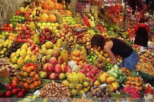 果蔬供应足
