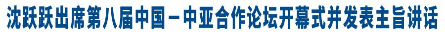 沈�S�S出(chu)席第八�弥��(guo)-中��合作���(tan)�_幕式�K�l表主旨�vbu) /></a><!--enorth cms block end [ name=